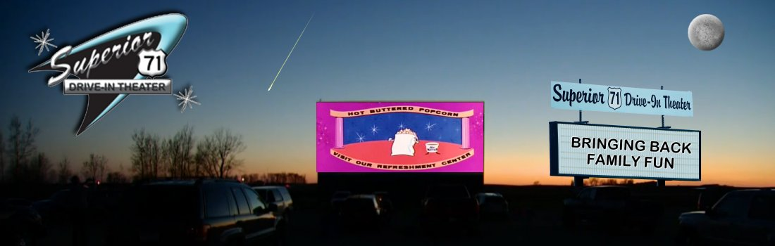 Superior 71 Drive In Theater Outdoor Drivein Theater